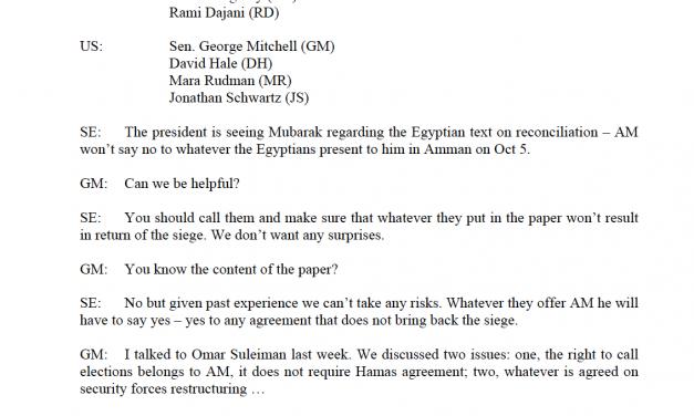 Il Rapporto Goldstone. L'ANP rinuncia a portare Israele dinanzi alla Corte Penale Internazionale per l'operazione Piombo Fuso