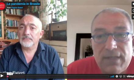 La pandemia in Brasile. Intervista a Pasquale Pugliese