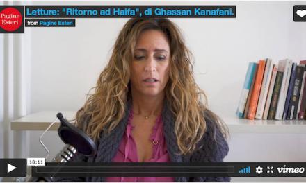 "Letture: ""Ritorno ad Haifa"", di Ghassan Kanafani."